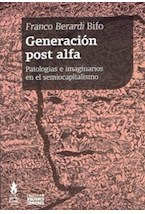 Papel GENERACION POST ALFA