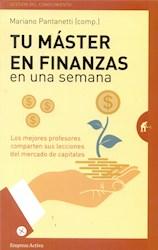 Libro Tu Master En Finanzas En Una Semana