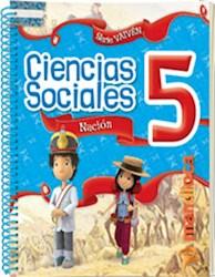 Libro Sociales 5 Nacion Vaiven (Anillado)