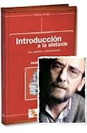 Papel INTRODUCCION A LA SINTAXIS USO REFLEXION Y SISTEMATIZACION (CAMINOS DE TIZA) (RUSTICO)