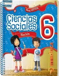 Libro Sociales 6 Nacion Vaiven (Anillado)