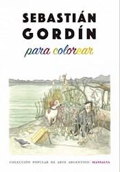 Libro Sebastian Gordin Para Colorear