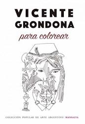 Libro Vicente Grondona Para Colorear