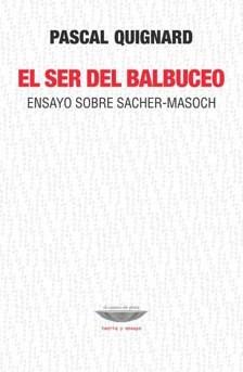 Papel El Ser Del Balbuceo.