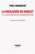 Papel VACILACION DE HAMLET Y LA DECISION DE SHAKESPEARE (COLECCION TEORIA Y ENSAYO)