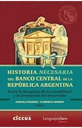 Papel HISTORIA NECESARIA DEL BANCO CENTRAL DE LA REPUBLICA ARGENTI