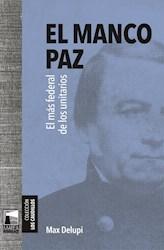 Libro El Manco Paz