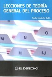 Libro Lecciones De La Taoria General Del Proceso