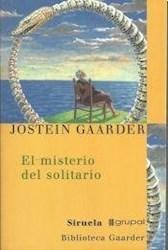 Libro El Misterio Del Solitario