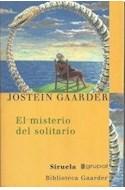 Papel MISTERIO DEL SOLITARIO (BIBLIOTECA GAARDER)