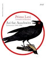 Libro Asi Fue Auschwitz