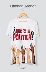Libro Que Es La Politica ?