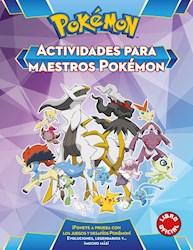 Libro Pokemon . Actividades Para Maestros