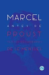 Libro Marcel Antes De Proust