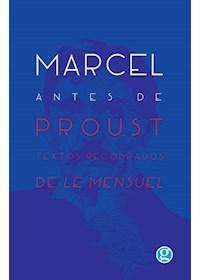 Papel Marcel Antes De Proust