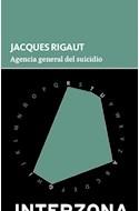 Papel AGENCIA GENERAL DEL SUICIDIO (COLECCION ZONA DE TESOROS) (BOLSILLO)