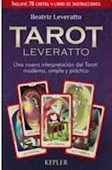 Papel TAROT LEVERATTO (INCLUYE 78 CARTAS Y LIBRO DE INSTRUCCIONES)