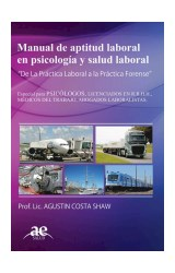 Test MANUAL DE APTITUD LABORAL EN PSICOLOGIA Y SALUD LABORAL