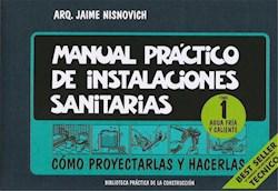 Papel Manual Practico De Instalaciones Sanitarias Tomo 1 Agua Fria Y Caliente
