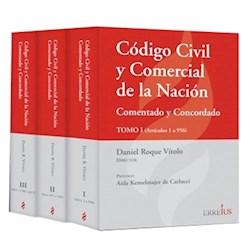 Libro Codigo Civil Y Comercial De La Nacion ( Tres Tomos )