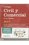 Papel CODIGO CIVIL Y COMERCIAL DE LA NACION 2017 (INCLUYE ACCESO GRATUITO ONLINE) (RUSTICA)