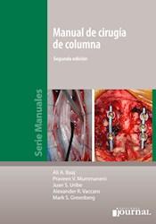 Papel Manual De Cirugía De Columna