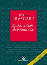 Libro Que Es El Diseño De Informacion ?
