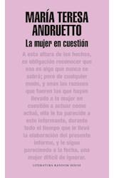 Papel MUJER EN CUESTION (LITERATURA RANDOM HOUSE) (RUSTICA)