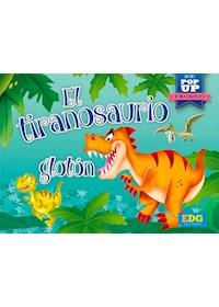 Papel El Tiranosaurio Glotón - Mini Pop-Up