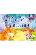 Papel ANITA Y EL UNICORNIO (COLECCION MINI DINOSAURIOS POP UP) (CARTONE)