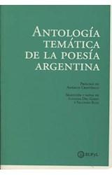 Papel ANTOLOGIA TEMATICA DE LA POESIA ARGENTINA