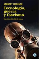 Papel TECNOLOGIA GUERRA Y FASCISMO (TRADUCCION DE CRISTOPHER M. BONILLA)