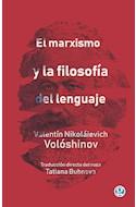 Papel MARXISMO Y LA FILOSOFIA DEL LENGUAJE