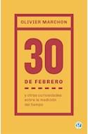 Papel 30 DE FEBRERO Y OTRAS CURIOSIDADES SOBRE LA MEDICION DEL TIEMPO