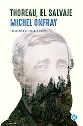 Libro Thoreau , El Salvaje