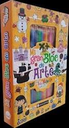 Libro Mi Gran Bloc De Arte - Naranja
