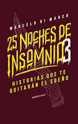 Libro 25 Noches De Insomnio 3