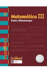 Papel MATEMATICA 3 MANDIOCA LLAVES (2º AÑO CABA / 3º AÑO BUENOS AIRES) (NOVEDAD 2018)