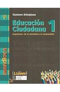 Papel EDUCACION CIUDADANA 1 MANDIOCA LLAVES ARGENTINA DE LA SOCIEDAD A LA COMUNIDAD (NOVEDAD 2017)