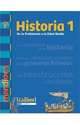 Papel HISTORIA 1 MANDIOCA DE LA PREHISTORIA A LA EDAD MEDIA (SERIE LLAVES) (NOVEDAD 2017)