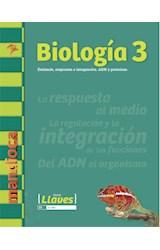 Papel BIOLOGIA 3 MANDIOCA ESTIMULO RESPUESTA E INTEGRACION ADN Y PROTEINAS (SERIE LLAVES) (NOVEDAD 2017)