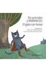 Papel DE ANIMALES Y ANIMALES EL GATO CON BOTAS [6+ AÑOS] (PLANETA AMARILLO)
