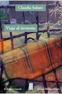 Papel VIAJE AL INVIERNO (COLECCION LA LENGUA / NOVELA)
