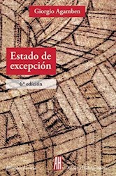Libro Estado De Excepcion