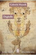 Papel DEGUELLO (COLECCION LA LENGUA / NOVELA)