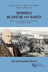 Libro Memorias De Jose De San Martin