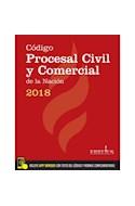 Papel CODIGO PROCESAL CIVIL Y COMERCIAL DE LA NACION 2018 (INCLUYE APP ERREIUS CON TEXTO DEL CODIGO Y NORM