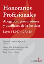 Libro Honorarios Profesionales