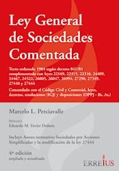 Libro Ley General De Sociedades Comentada