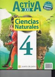 Libro Activa Xxi 4 Ciencias Sociales / Ciencias Naturales  Nacion
